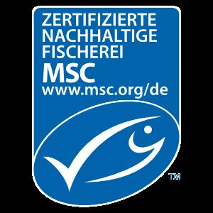 MSC Zertifizierte Nachhaltige Fischerei